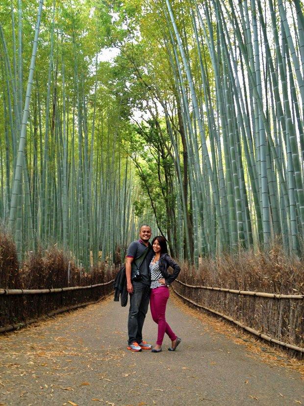 Arashiyama travel blogger